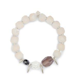 Kendra Scott White Quartz stretch bracelet